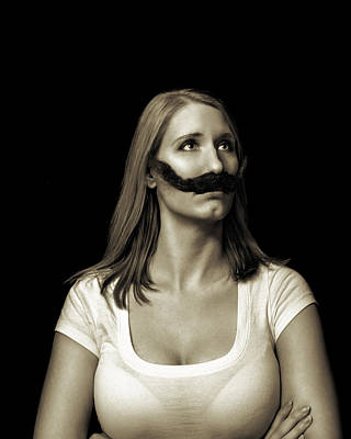 Photograph - Movember Twentyfirst by Ashley King
