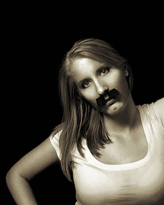 Photograph - Movember Twentyfourth by Ashley King