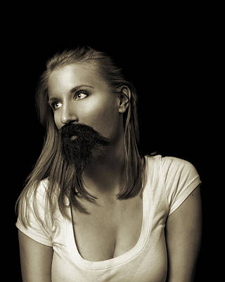Photograph - Movember Twentyninth by Ashley King