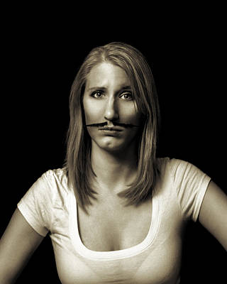 Photograph - Movember Twentyseventh by Ashley King