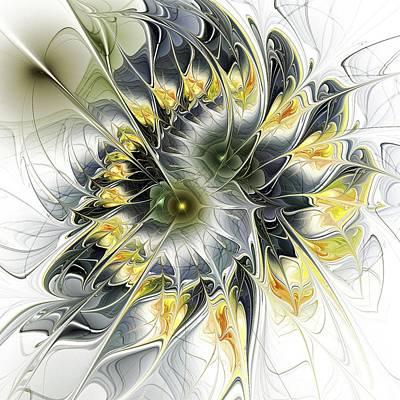 Abstract Movement Digital Art - Movement by Anastasiya Malakhova