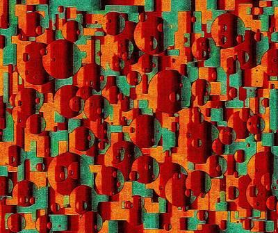 Digital Art - Movement Of Symphonic Warmth by Susan Maxwell Schmidt