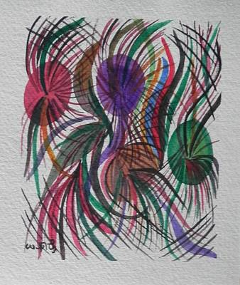 Painting - Movement by Usha Rai