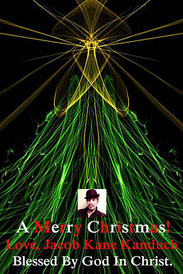 Moveonart A Merry Christmas Love Jacob Kanduch Print by Jacob Kanduch
