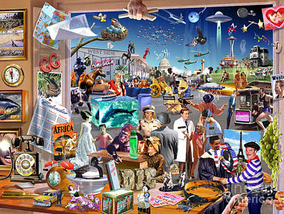 Creativity Digital Art - Movie Madness by Adrian Chesterman