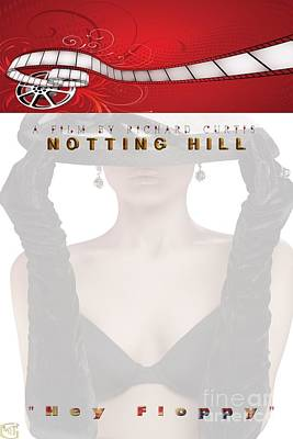 Digital Art - Movie Poster - Notting Hill by Liane Wright