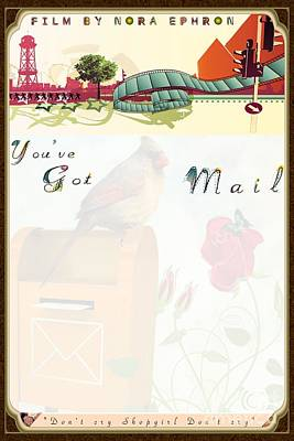 Digital Art - Movie Poster - Youve Got Mail by Liane Wright