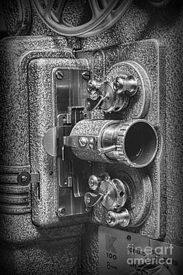 8mm Photograph - Movie Projector In 8mm by Paul Ward