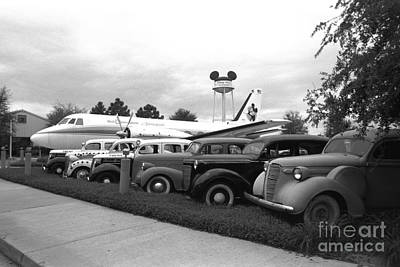 Movie Prop Photograph - Movie Props Disney's Mgm Studios 1995 by Edward Fielding