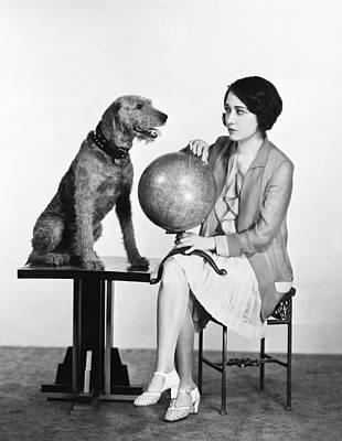Movie Star Dorothy Sebastian Art Print by Underwood Archives