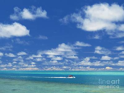 Turquoise Blue Photograph - Moving Across Paradise by Scott Cameron