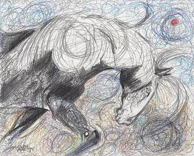 Drawing - Moving Forward by Mary Armstrong
