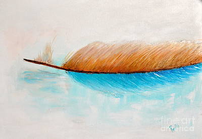 Painting - Moving Lonely by Preethi Mathialagan