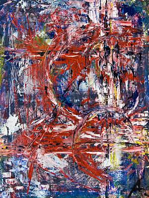 Painting - Moving Target by Alexandra Jordankova