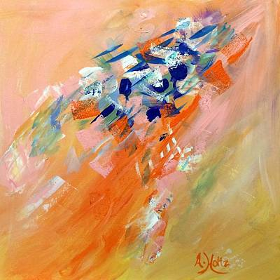 Painting - Moving Up by Arlene Holtz