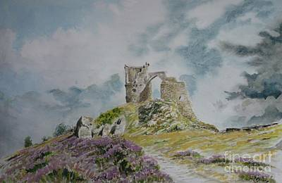 Mow-cop Painting - Mow Cop by James Crook