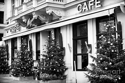Photograph - Mozart Cafe by John Rizzuto