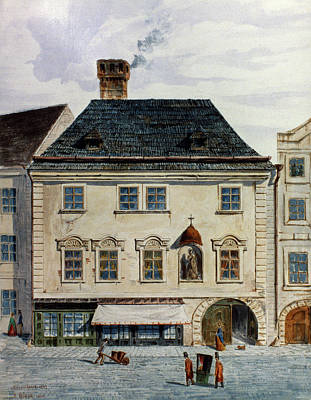 Viennese Painting - Mozart Home In Vienna by Granger