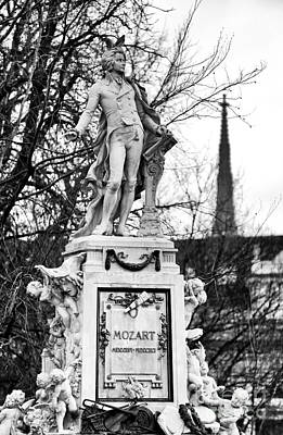 Photograph - Mozart In Vienna by John Rizzuto