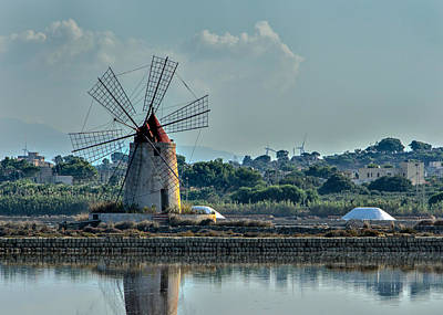 Photograph - Mozia Sicily Windmill by Alan Toepfer