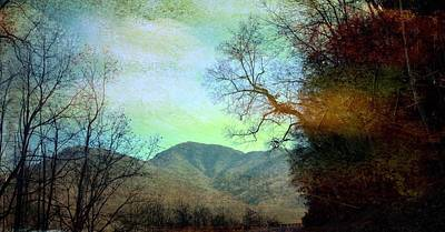 Photograph - Mprints-smokey Mountain Memories by M  Stuart