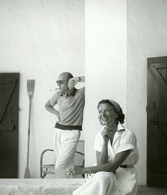 Photograph - Mr. And Mme. Philippe Fenwick by Henry Clarke