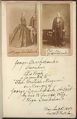 Mr And Mrs Cruikshank Art Print by British Library
