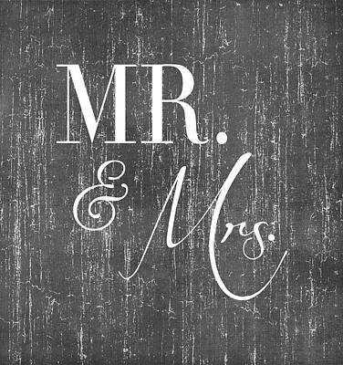 Digital Art - Mr. And Mrs. by Jaime Friedman