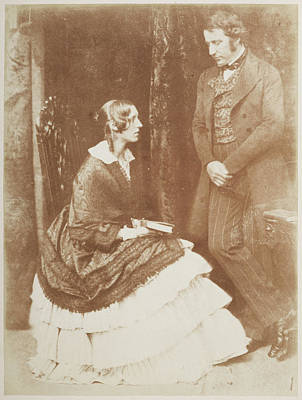 Portaits Photograph - Mr. And Mrs. James Stuart Wortley by British Library