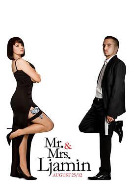 Mr And Mrs Ljamin Original by Gary Ljamin