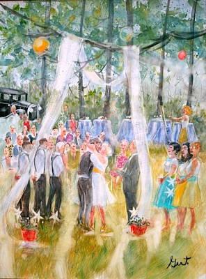 Painting - Mr. And Mrs. Matt Parker by Gertrude Palmer