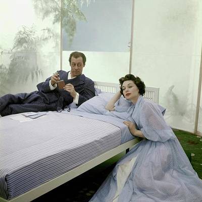 Harrison Photograph - Mr. And Mrs. Rex Harrison Photographed by Frances McLaughlin-Gill