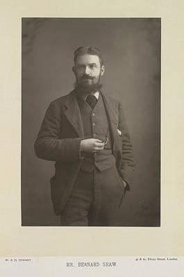 Mr Bernard Shaw Art Print