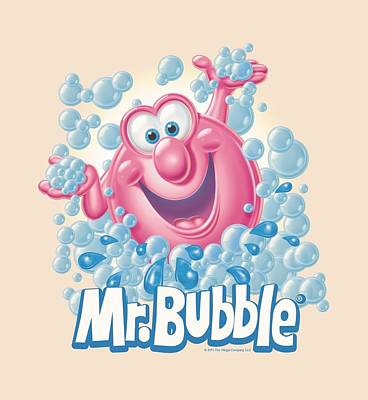 Soap Bubbles Digital Art - Mr Bubble - Modern Bubble by Brand A