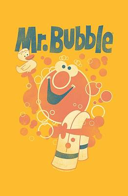 Soap Bubbles Digital Art - Mr Bubble - Towel And Duckie by Brand A