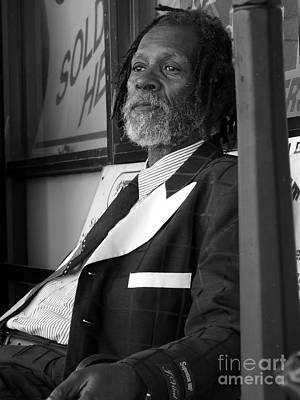 Photograph - Mr Earl Robinson by David Bearden