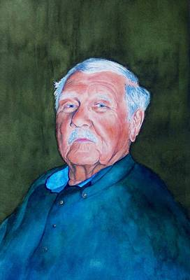 Painting - Mr. Erickson by Norman Freyer