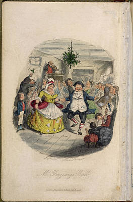 Child Photograph - Mr Fezziwig's Ball by British Library