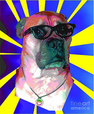 Digital Art - Mr Fielding Makes A Mockery Of Art by Barry Lamont