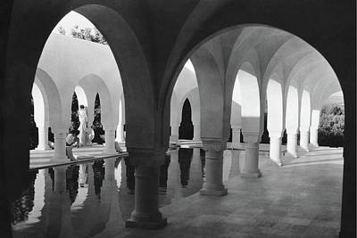 Northern Africa Photograph - Mr George Sebastian And His Wife Next by George Hoyningen-Huene