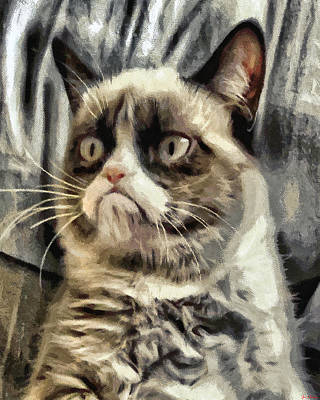 Painting - Mr Grumpy by Joe Misrasi