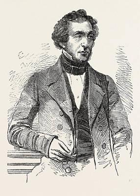 Mr. J.b. Smith, M.p Art Print by English School