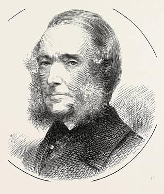 Mr. J.g. Hubbard Art Print by English School