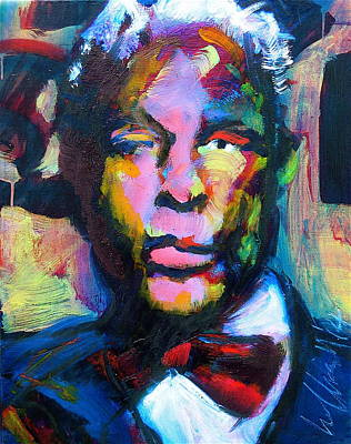 Painting - Mr. Ledbetter by Les Leffingwell