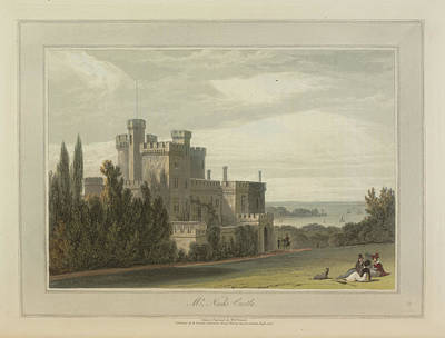 Mr Nash's Castle Art Print by British Library
