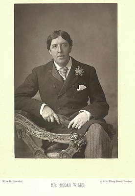 Mr Oscar Wilde Art Print by British Library