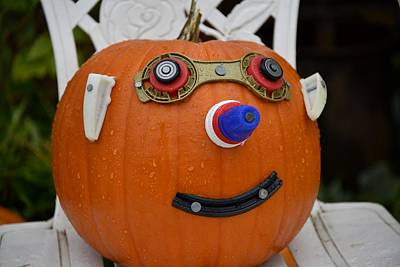 Kitchen Collection - Mr. Pumpkin Head by Image Takers Photography LLC - Carol Haddon