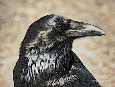 Mr. Raven Art Print