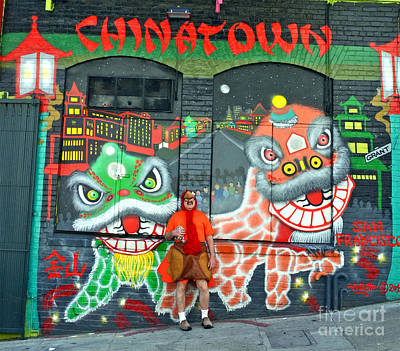 Photograph - Mr Special On The Loose In Chinatown In San Francisco  by Jim Fitzpatrick