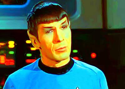 Mr Spock Art Print